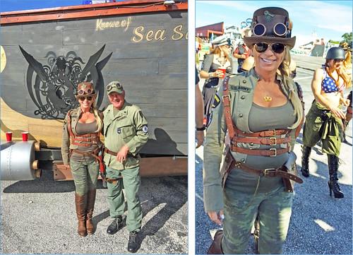 Karen and Mike Storms | Veterans Day Parade November 2016