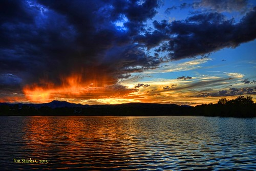 sunset usa clouds outdoors colorado lakewood virga kendricklake