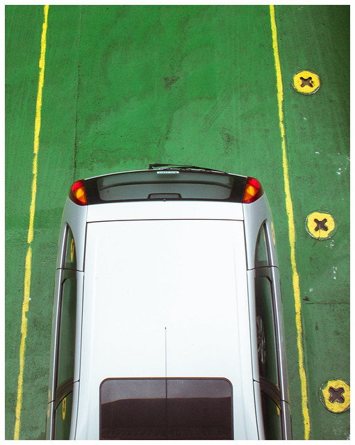 Plan View of Car, Cal Mac Ferry