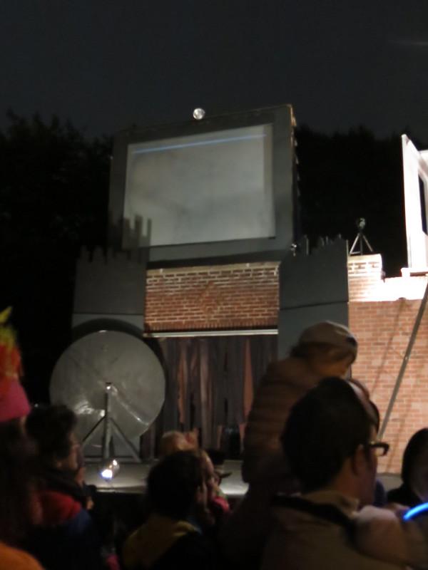 Set, 2015 Waverly Place Costume Parade