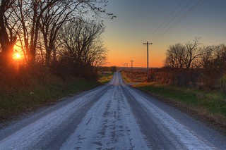 Gravel Road   by KC Mike Day