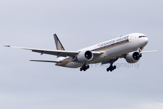9V-SWW Singapore Airlines B777-300ER London Heathrow Airport