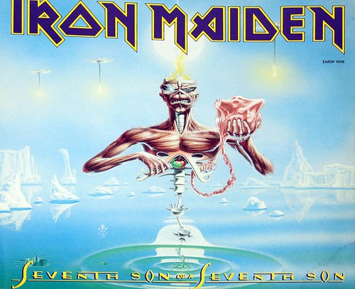 IRON MAIDEN SEVENTH SON OF A SEVENTH SON PD PICTURE DISC | by vinylmeister
