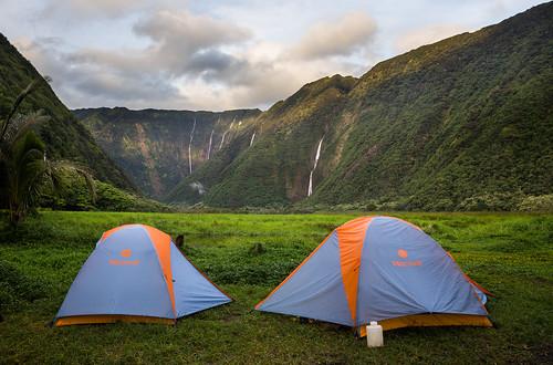 hawaii tent backpacking valley backpack marmot bigisland waimanu