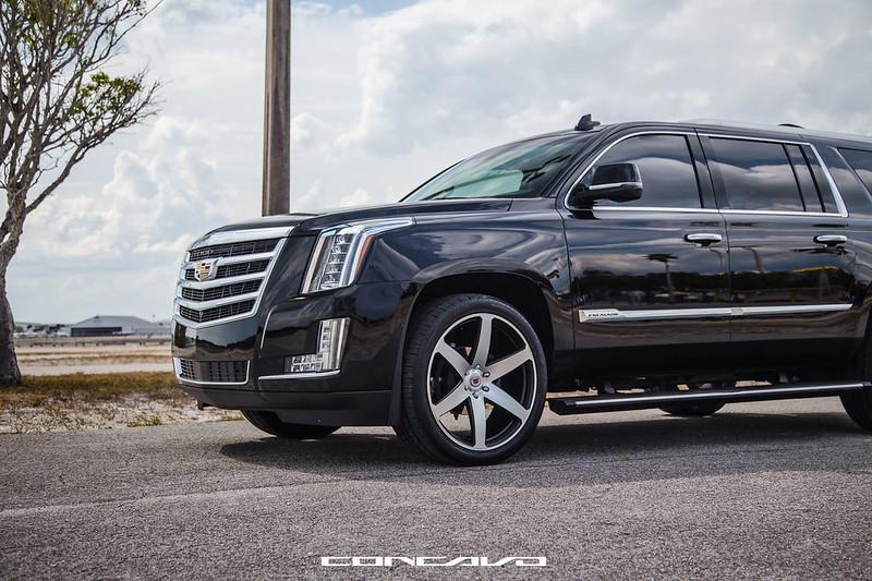 Cadillac Escalade ESV on CW-6