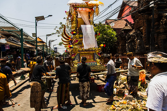Un funeral Balinés