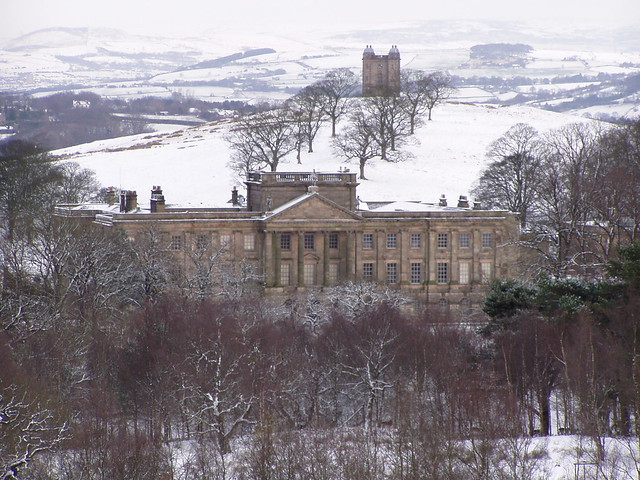Lyme Park House and Cage