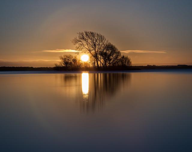 Sunrise over Loch Leven