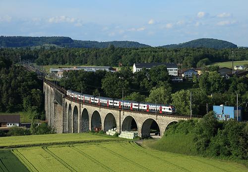 electric train switzerland flirt swiss railway sbb multiple emu bahn railways treno unit