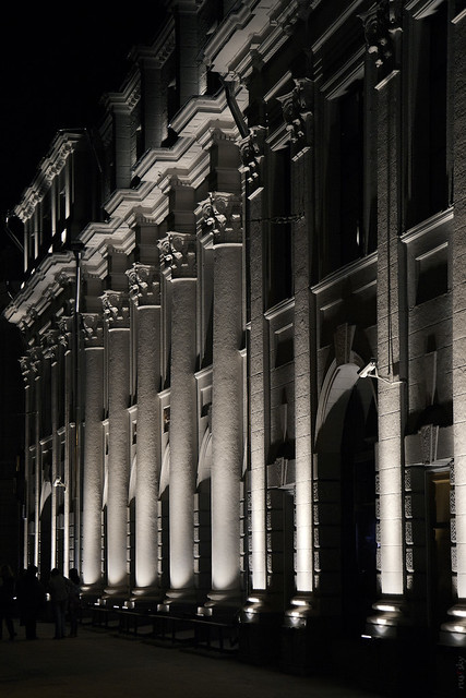 RUS52537(Night. Myasnitskaya Street)