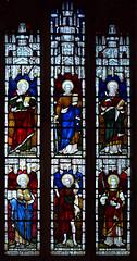 Saints Mark, Paul, Luke, Barnabas, John the Baptist and Stephen (Clayton & Bell, 1880)