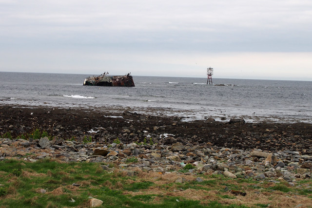 Ship wreck at Inverallochy
