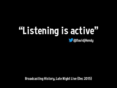 Listening is active @DavidjHendy on Late Night Live http://www.abc.net.au/radionational/programs/latenightlive/broadcasting-history/6991140 … @RadioNational @LNLonRN @PhillipAdams_1