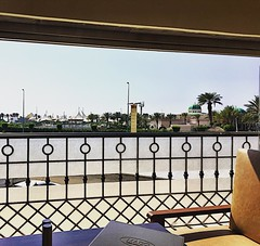 The #view from our table at #Mado #café on the #corniche in #Jeddah #saudi #food #coffee #كورنيش #جدة #جدة_غير #جده_لايف