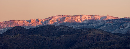arizona panorama snow sunrise us unitedstates tucson saguaronationalpark coronadonationalforest santacatalinamountains mountlemmon puschridgewilderness summitcrags radioridge garwooddamtrail