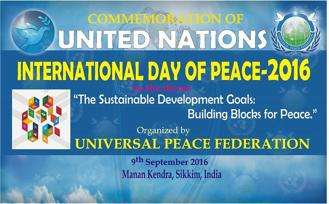 India-2016-09-30-International Day of Peace Commemorated in India