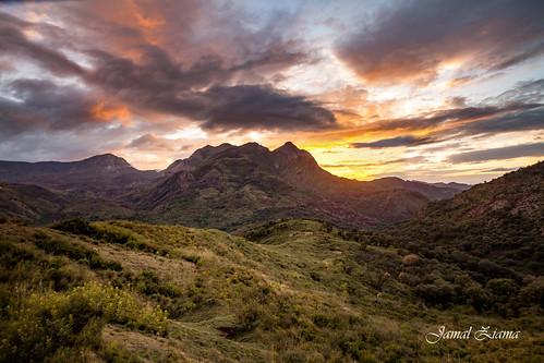 jijel nature landscape canon landscapes sunset mountains 5d natur algeria paysages nuage montagnes algerie mark ii coulds couleurs coucher ziama