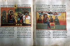 ሰብአ ሰገል በጌታችን ፊት እንደሰገዱ  ጌታችን ሲገረዝ Adoration of the Magi; Circumcision