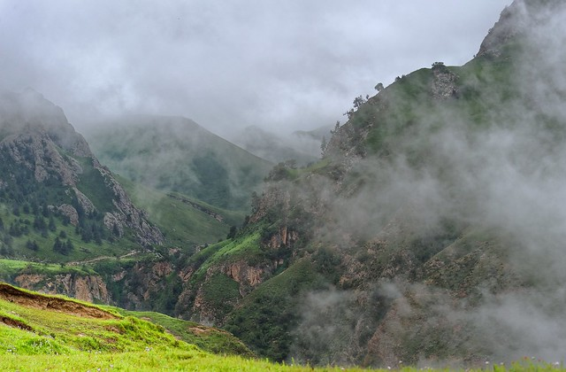 Landscape of Tsigortang county, Tibet 2014