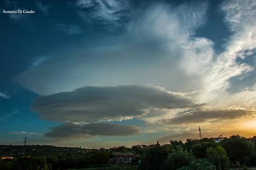 clouds sunrise nuvole alba sicily lenticular lenticolari
