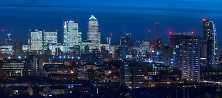 London - East - Canary Wharf and Stratford | by kenny mccartney