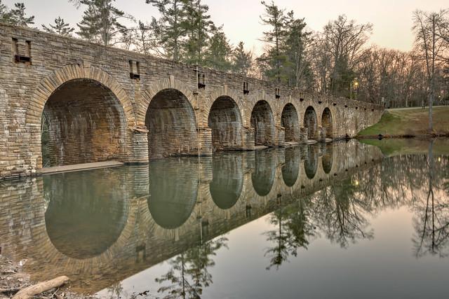Bridge, Cumberland Mountain State Park, Cumberland County, Tennessee