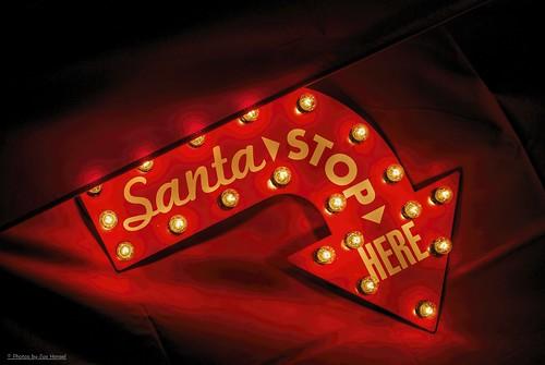 santa christmas sign christmaslights socal southerncalifornia safaripark escondido wishing sandiegocounty