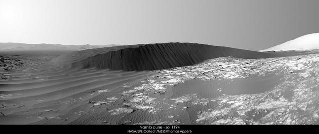 Namib dune - sol 1194