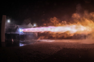 Raptor testing | by Official SpaceX Photos