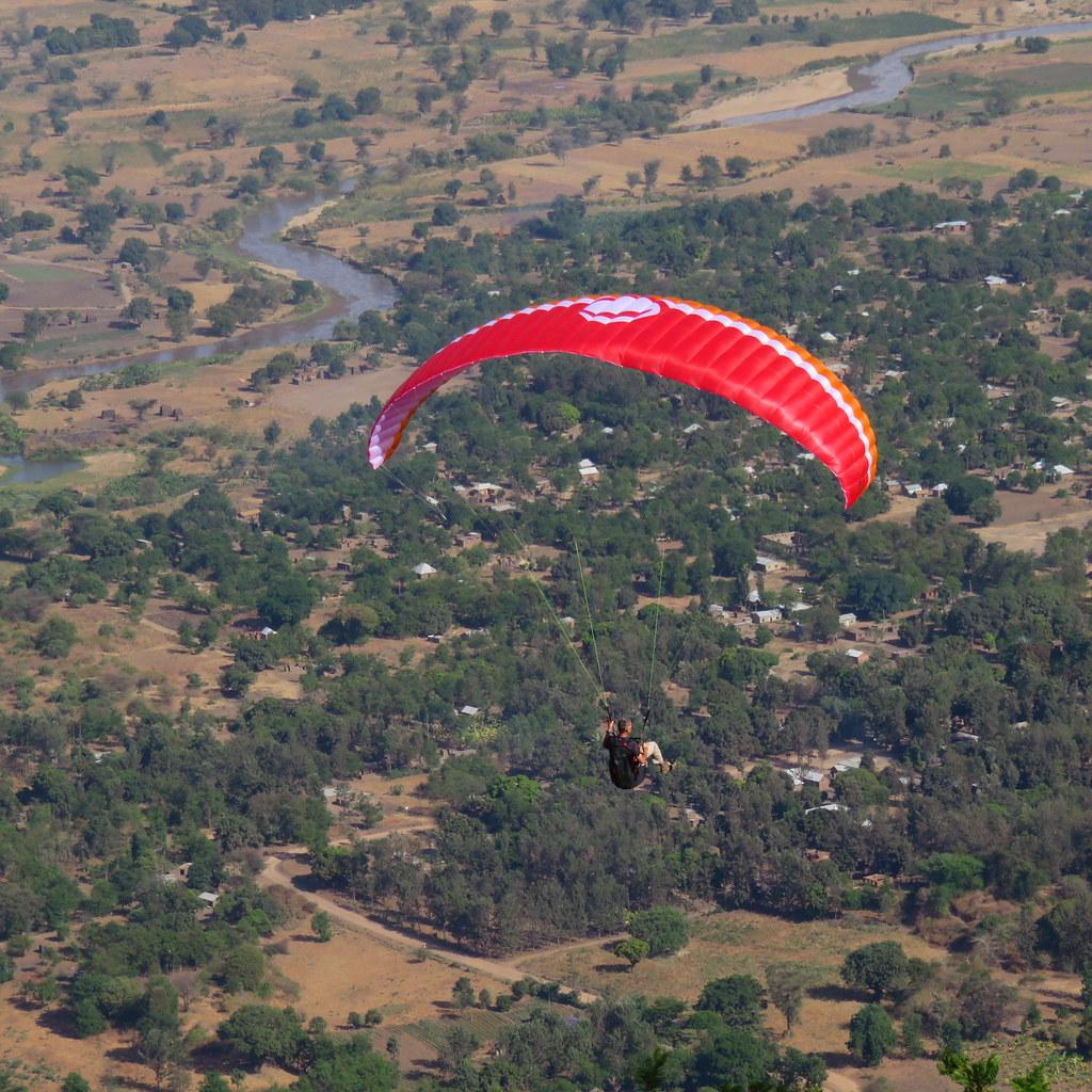Me paragliding at Manyara, Tanzania | Geoffrey Degens | Flickr