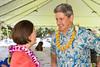U.S. Senator Mazie Hirono and UH System President David Lassner