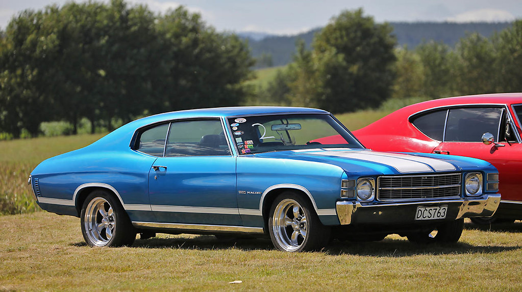 Chevy Chevelle 2016 >> 1971 Chevrolet Chevelle Malibu 350 2016 Shady Showdown To