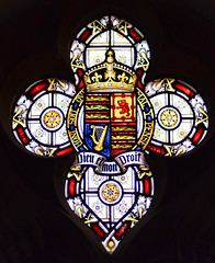 Royal Arms of Victoria (Clayton & Bell, 1901)