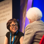 Xinran chats to Chair Ruth Wishart | Journalist Xinran chats to Chair Ruth Wishart about her book exploring China's One Child policy © Alan McCredie