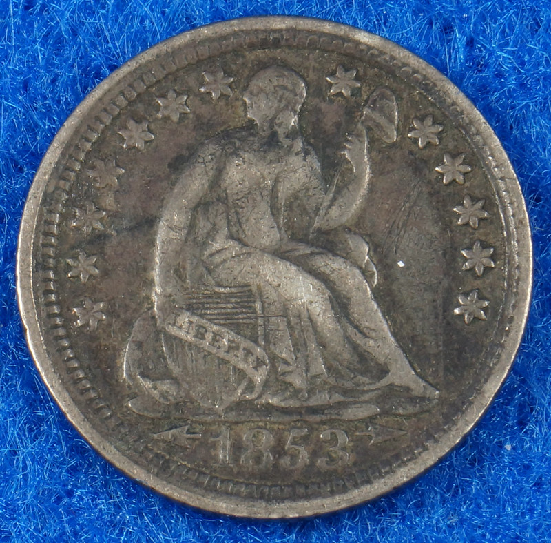 RD2435 1853 Seated Liberty Half Dime DSC05721