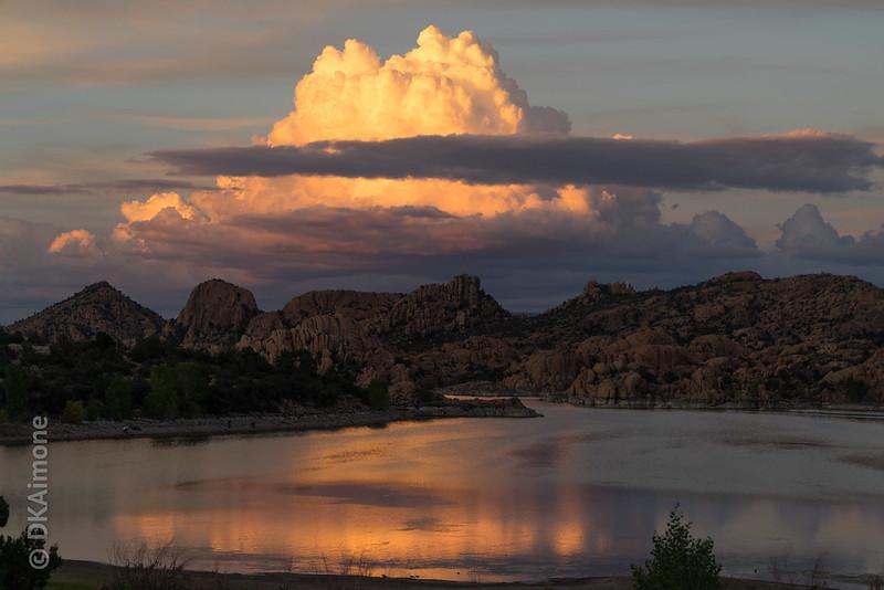 Waltens Lake,  Dusk, Prescott, Arizona