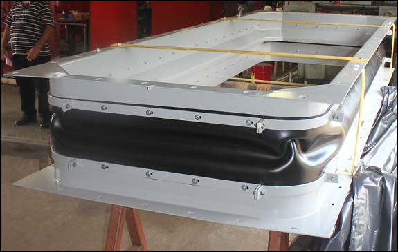 "153"" Fabric Expansion Joint for a Gas Turbine Facility"