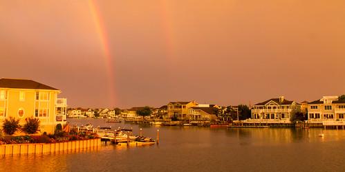 sunset vacation bay us newjersey rainbow unitedstates nj stoneharbor bayside jerseyshore vacation2015
