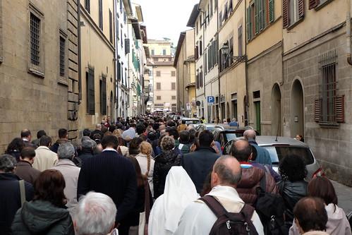 A Firenze con Francesco
