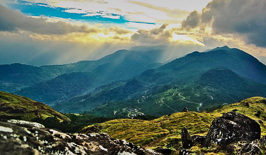 Beautiful view of Ponmudi