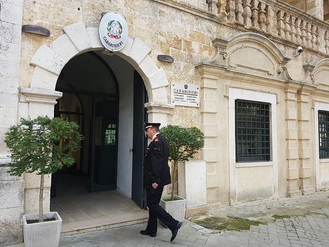 caserma carabinieri Gioia del Colle