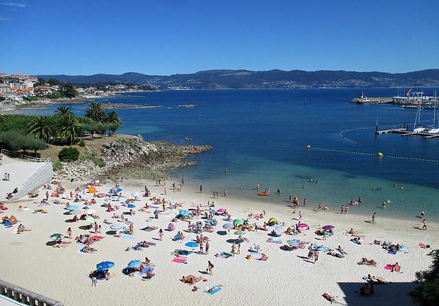 Ría de Pontevedra, Playa de Panadeira, Sanxenxo