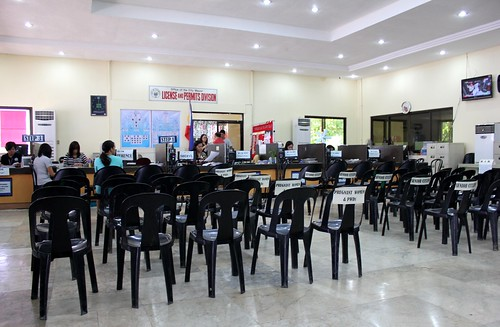 The newly-rehabilitated Kanhuraw Business Center acts as a 'one-stop shop' for local government services - July 2015 (I) | by dilg.yolanda