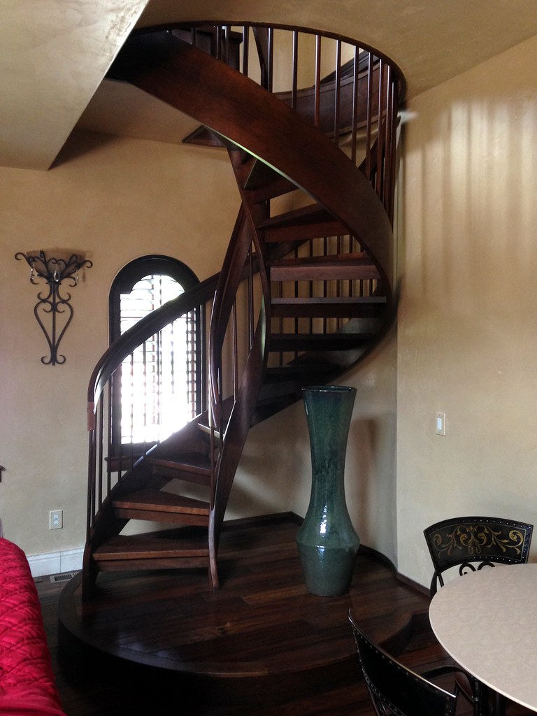 Cherry Staircase | I Am Too Old To Install These Anymore. Th ...