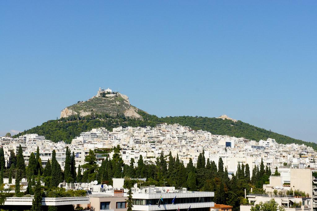 Mount Lycabettus in Greece