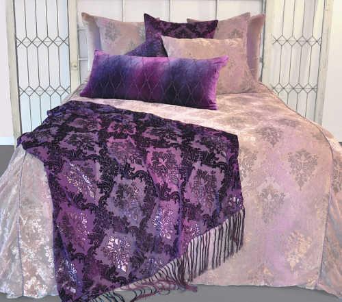 Kevin O'Brien Studio Bedding - Brocade Velvet Bedding | Flickr