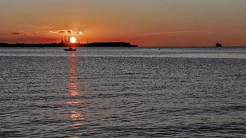sunrise nikon maryland baltimore dxo f28 80200 d600 patapscoriver nikkkor hawkinspoint ononephoto piccure oscarpetefan