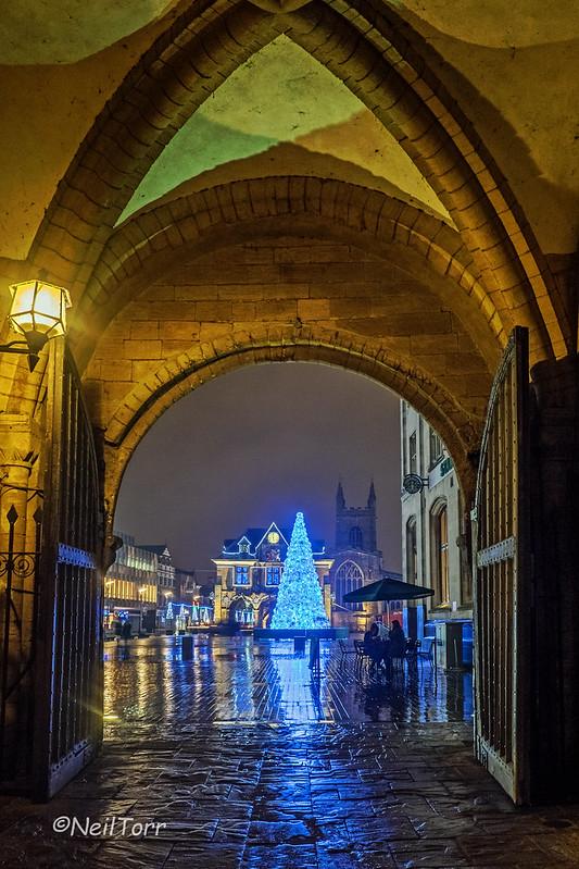 Through the Norman Arch, Christmas 2015