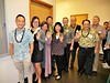 School of Travel Industry Management alumni attending the fall 2016 commencement ceremony to congratulate the graduates. Photo by Clinton K. Inouye.