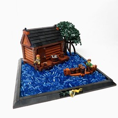 Abnerburgh Lake-house by Kingdomviewbricks